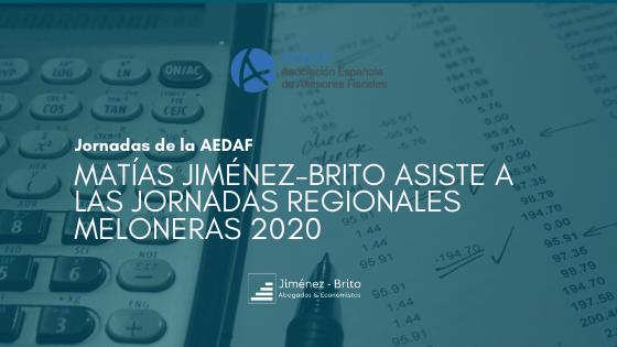 Matías Jiménez-Brito asiste a las Jornadas Regionales Meloneras de la AEDAF